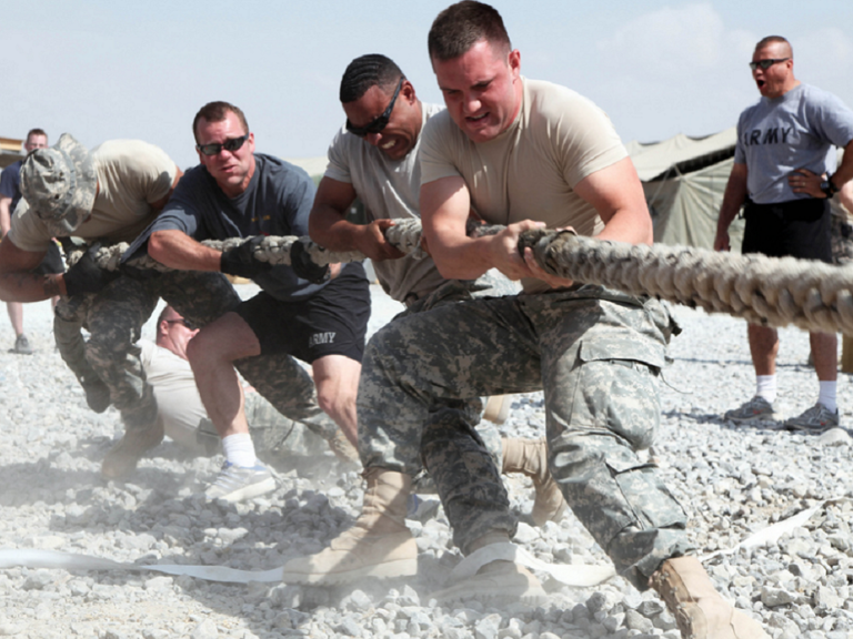 teamwork in the military